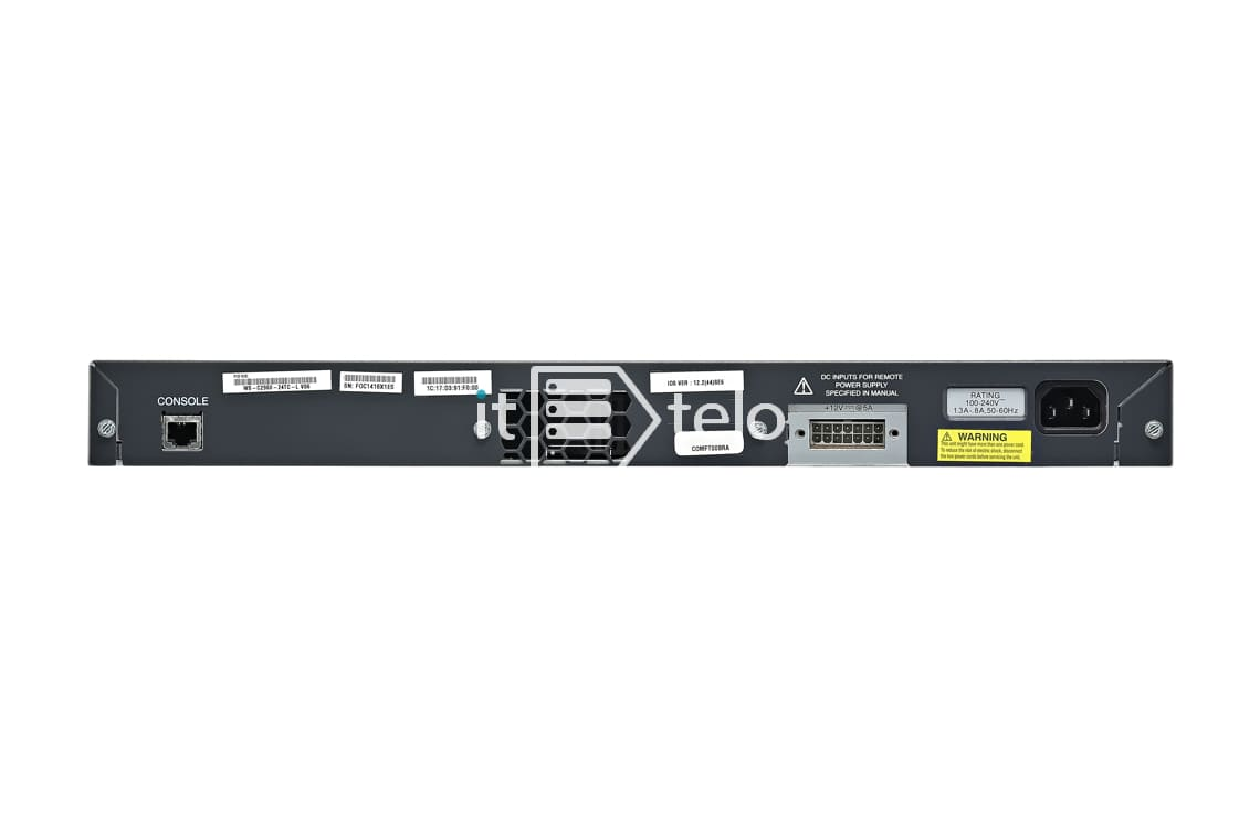 Коммутатор Cisco Catalyst WS-C2960-24TC-L