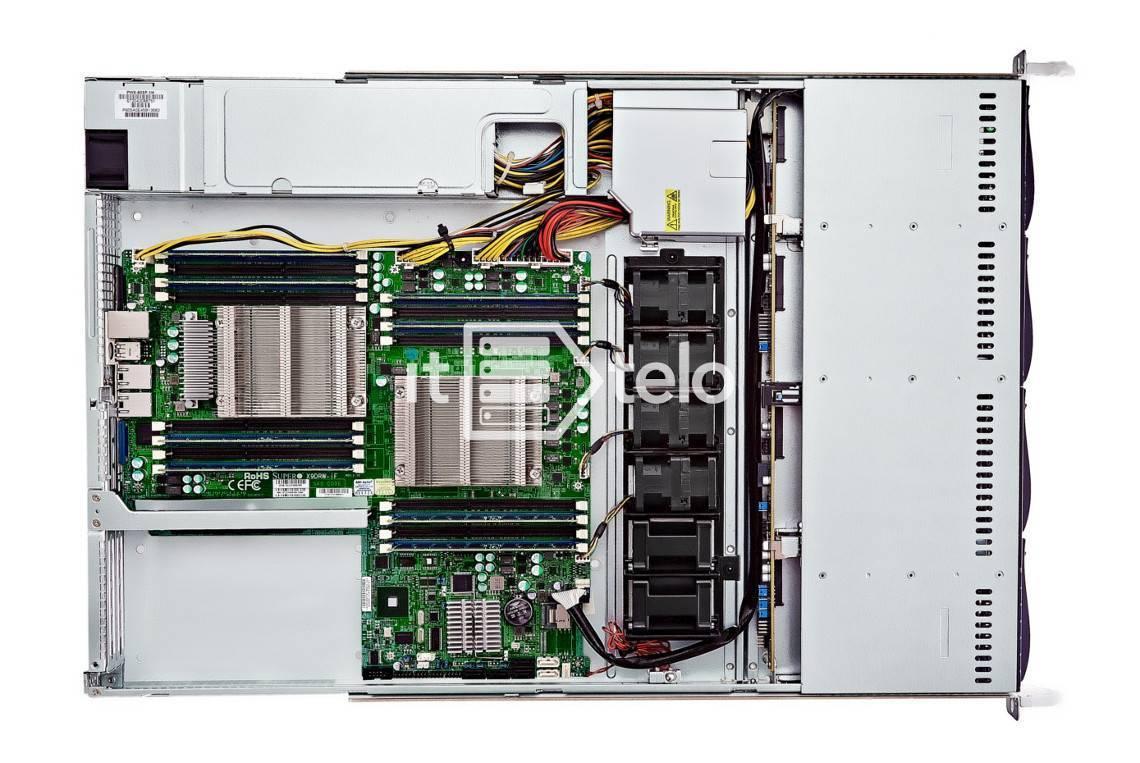 Сервер Supermicro 5019P - online конфигуратор, купить 1U
