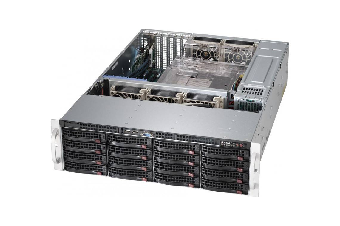 Сервер Supermicro SYS 6038R new