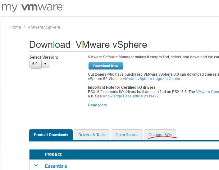 vmware esxi 6.0 download iso free