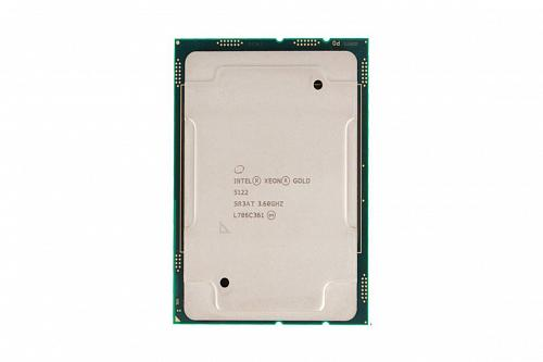 Intel Xeon Gold 5122 Processor 16.5 MB Caсhe 3.60 GHz 4 ядра